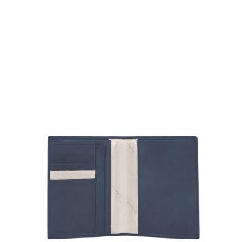 Обложка для паспорта Piquadro VIBE/Blue-Grey PP1660VI_BGR