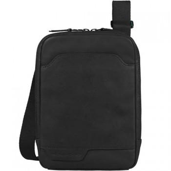 Сумочка / Барсетка Piquadro EUCLIDE/Black верт. с отдел. для iPad mini на ремне CA3084S73_N