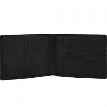 Портмоне Piquadro EUCLIDE/Black с отдел. для 12 кред. карт PU1241S73_N