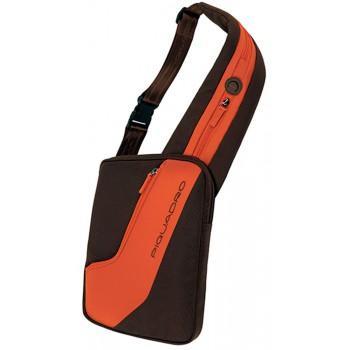 Сумка Piquadro VOYAGER/Brown-Orange для iPad/нетбука CA2234TR_MA