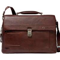 Портфель Piquadro VIBE/D.Brown на 2 отдел. с фронт. карманом и с отдел. д/ноутбука CA1045VI_TM
