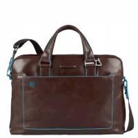Портфель Piquadro двуручн. с отдел. д/ноутбука/iPad/iPad Mini BL SQUARE/Cognac CA3335B2_MO