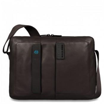 Сумка Piquadro наплечная с отдел. для ноутбука 13/iPad/iPad Air/iPad mini PULSE/Brown CA3370P15_M