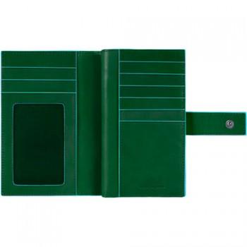 Портмоне PIQUADRO BL SQUARE/F.Green PD1353B2_VE4