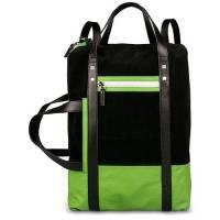 Рюкзак PIQUADRO ETA/Black-Green CA3443WO11_N2